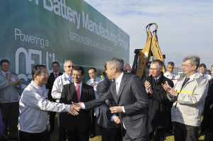 Nissan Motor начала строительство в Португалии завода по производству  аккумуляторов для электромобилей