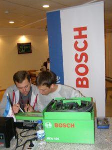 Bosch провел соревнования между сервисными центрами по диагностическому и гаражному оборудованию
