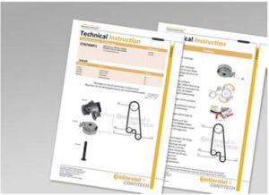 Инструкция по монтажу для каждого продукта ContiTech