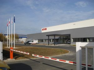 KYB Europe открыла в Чехии новый завод про производству пружин подвески автомобиля