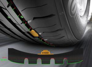 Шини Continental даватимуть сигнал, коли їх потрібно замінити