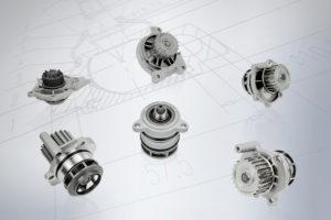 Водяные насосы MEYLE: впервые улучшенные водяные насосы «Сделано в Германии» качества HD для разных моделей VAG