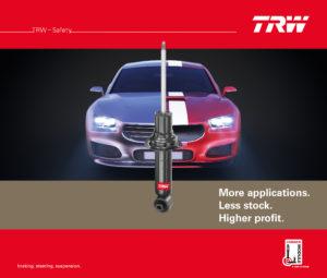 TRW укрепляет свои лидерские позиции на рынке благодаря новой рекламной кампании по продвижению амортизаторов