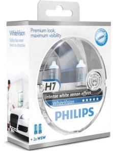 PHILIPS представил новые лампы головного света PHILIPS WHITEVISION и PHILIPS X-TREMEVISION