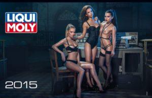Новий календар Liqui Moly на 2015 рік