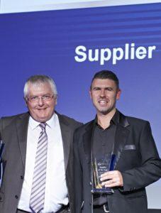 MAHLE Aftermarket Ltd. получает премию за второе место «Supplier of the Year» (Поставщик года)