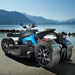 NTN-SNR участвует в создании спортивного электрического трицикла