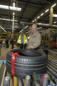 Польский завод Bridgestone выпустил 100-миллионную шину