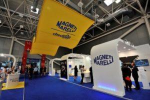 Компания Magneti Marelli представила свои разработки на выставке потребительской электроники в Лас-Вегасе CES 2016 и на автосалоне в Детройте (NAIAS) 2016