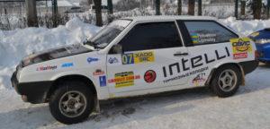 Экипаж DAfmi занял I-е место в Зимнем Кубке Украины по ралли