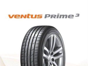 Hankook выпускает новые летние шины Ventus Prime3