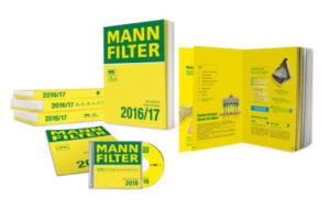 Комплект каталогов MANN-FILTER 2016/2017