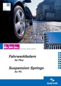 Новый каталог ZF Services «Пружины подвески Sachs для легковых автомобилей»