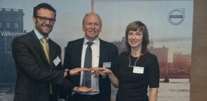 Компания TRW Aftermarket получает награду Volvo Cars Quality Excellence Award за 2015 год