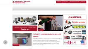 Новый информационный сайт Federal-Mogul