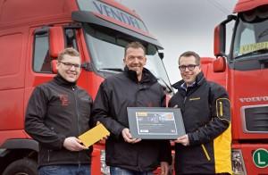 Beat the Best_German winner receives certificate