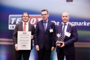 Компания TRW Aftermarket стала поставщиком 2015 года по оценке группы компаний TEMOT International