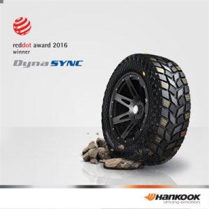 Победа супершины от Hankook Tire на Reddot Award 2016