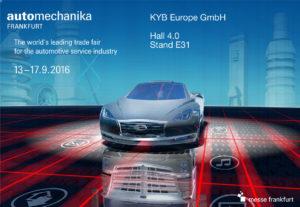KYB приглашает на Automechanika 2016