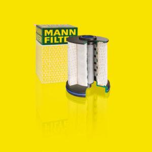 Новейшие дизельные фильтры MANN-FILTER с усовершенствованной системой сепарации воды