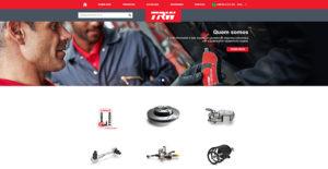 Сайт www.TRWaftermarket.com начал работать и в Бразилии