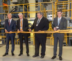 Компания Continental открыла обновленный цех по производству грузовых шин на заводе в Чехии
