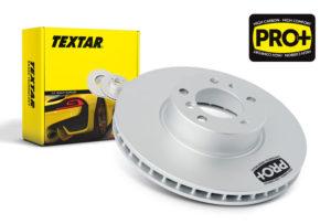 Новые диски Textar PRO+: торможение без перегревов