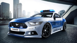 Новый Ford Mustang на страже немецкой полиции