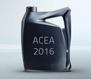 Изменение стандартов и спецификаций ACEA 2016: что вам нужно знать