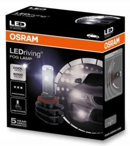 Новая светодиодная лампа OSRAM LEDriving FOG LAMP заменит старые «галогенки» в противотуманных фарах