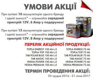 Акція Tab-Topla-Vesna