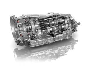 Новая 8-ступенчатая коробка передач с двойным сцеплением для спортивных автомобилей от ZF