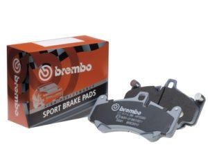Улучшенный состав тормозных колодок Brembo Sport HP2000
