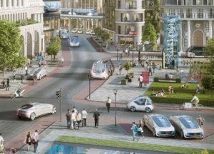 Bosch і Daimler спільно працюють над системою керування безпілотного автомобіля