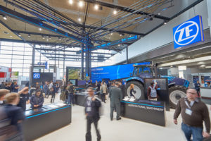 ZF на промышленной выставке Hannover MESSE 2017: решения для оцифровки промышленных технологий