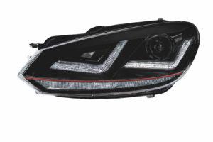 Osram создала новые ксеноновые фары для Volkswagen Golf 6