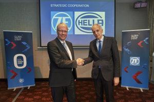 HELLA и ZF: новое стратегическое партнерство