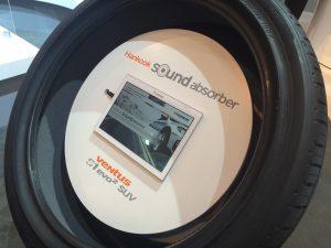 Технология sound absorber компании Hankook стала более эффективной