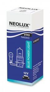Ассортимент компании NEOLUX расширился новой линейкой галогенных ламп BLUE POWER LIGHT