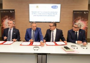 Magneti Marelli и Королевство Марокко подписали соглашение о строительстве завода по производству автомобильных компонентов