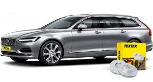 First to market – гальмівні диски Textar для нового Volvo V90 II