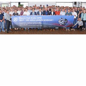 Мировой рекорд: c конвейера ZF сошел 100-миллионный электрический стояночный тормоз