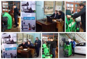 Компанія Bosch провела змагання сервісних центрів діагностичного і гаражного обладнання