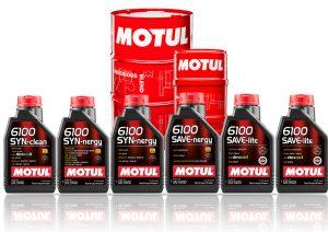 Оновлена серія моторних олив 6100 Technosynthese® від Motul