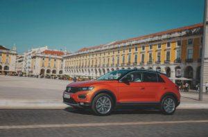 Volkswagen T-Roc препочитает шины Falken
