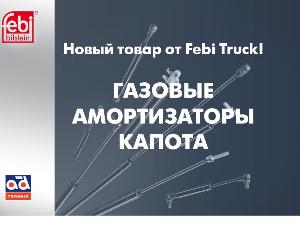 Газовые амортизаторы капота от Febi Truck