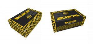 Компания Monroe обновила дизайн упаковки для деталей подвески