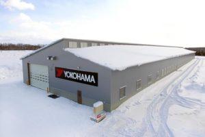 Новый крытый комплекс для тестов зимних шин от Yokohama