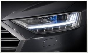 Светотехника для Audi A8 от HELLA