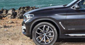 BMW X3 укомплектован шинами Kumho Crugen HP91